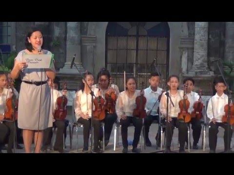 Musikito String Orchestra at Paco Park Manila