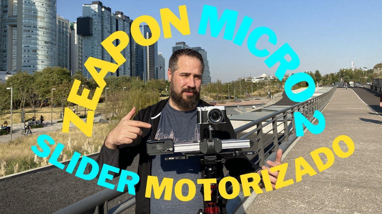 Slider Motorizado compacto para tus vídeos Zeapon Micro 2