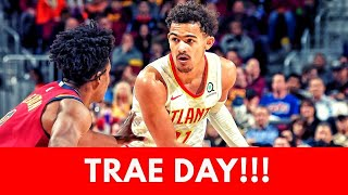Mad Mike Sports - Hawks Trae Young Drops 35 On Cavaliers