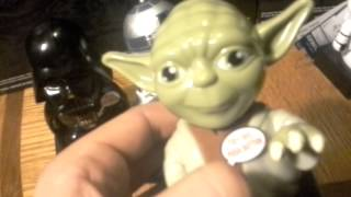 Star Wars Candy Dispenser Yoda R2d2 Vader Review