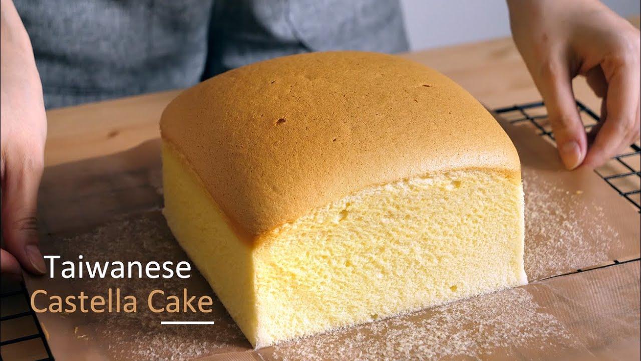 Taiwanese Castella Cake Recipe  [ Super Fluffy & Jiggly ] | CHU's Life