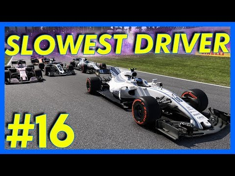F1 2017 Career Mode Gameplay : WORLD'S SLOWEST DRIVER!! (Part 16)