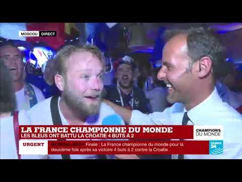 CHAMPIONS DU MONDE ! Grosse Fête Sur Le Son De MAGIC SYSTEM - Magic In The Air