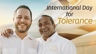 International Day for Tolerance | Etihad Airways