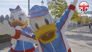 DISNEY HEALTHY LIVING | Disneyland Paris Surprise for Families! | Official Disney UK