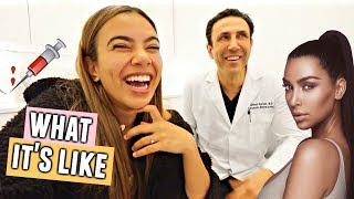 Going to Kim Kardashian's Doctor in Beverly Hills! (I got laser)