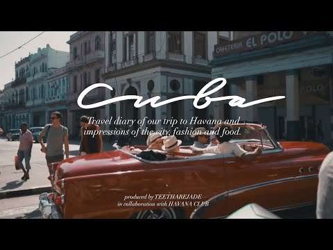 Cuba - Travel Diaries - Food, Fashion, Impressions