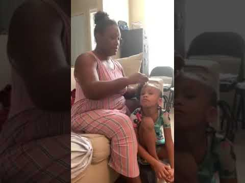 Little Girl Tell Grandma She Smells Like Fish #stinkygranny