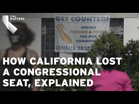 How California lost a congressional seat after the 2020 Census