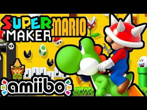Super Mario Maker LIVE Gameplay Walkthrough PART 11 ( Link Amiibo, Challenges, Viewer Levels) Wii U