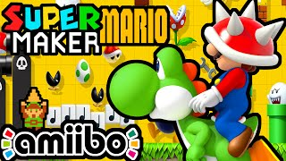Super Mario Maker LIVE Gameplay Walkthrough PART 11 ( Link Amiibo, Challenges, Viewer Levels) Wii U