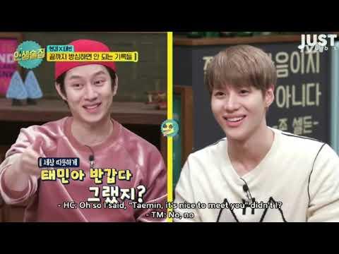 [ENG SUB] [Ep42] Life Bar Heechul Henry Taemins funny scenes