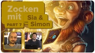Hearthstone mit Sia und Simon | Zocken mit Bohnen | 4/4 | 14.07.2015