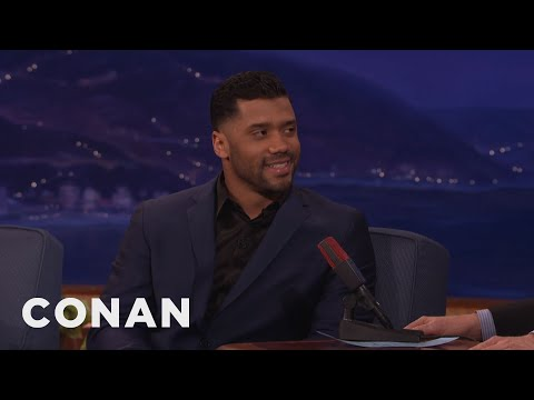 Russell Wilson's Super Bowl Prediction  - CONAN on TBS