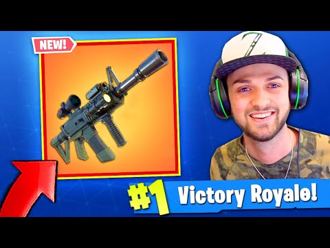 *NEW* GUN has THERMAL SCOPE in Fortnite: Battle Royale!