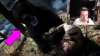 MAKING FRIENDS WITH A BEAR - Red Dead Redemption 2 Funny Moments | RDR2 Funny Moments