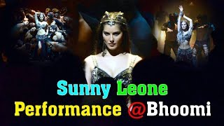 Sunny leone dance performance at bhoomi song | sunny leone first look from bhoomi | toptelugumedia