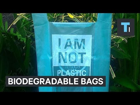 Biodegradable bag is helping save animals' lives and reduce pollution