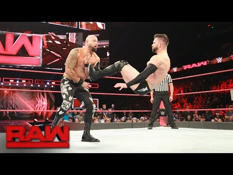 "Thumbnail: Finn Bálor goes head-to-head against former ""good brother"" Karl Anderson: Raw, May 22, 2017"