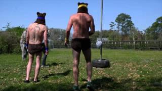 Jackass 3 - Beehive tetherball