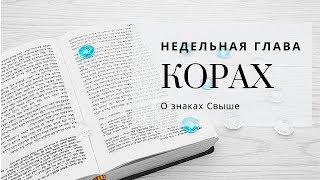 Недельная глава Корах | Урок от директора портала Ваикра р. Яакова Шатагина