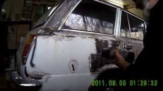 видео Сварка кузова автомобиля ВАЗ 2102
