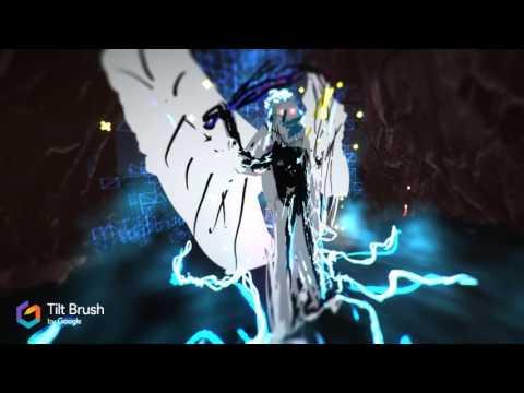 Diablo 4 VR Fight in Hell made in Tilt Brush VR