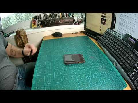 видео: Кардлолдер ручной работы.