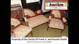 Auction - Antiques, Collectibles, Vehicles, Equipment - Saturday, 4/20/2013 at 10:00am