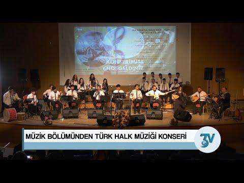 KBÜ'DE Müzik Bölümünden Türk Halk Müziği Konseri