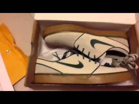 d902b4b1968a6 Nike sb zoom stefan janoski 420 birch nobel green review - YouTube