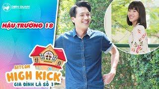 Gia đình là số 1 sitcom | hậu trường 18: Quang Tuấn cười sấp mặt với diễn xuất của Diệu Nhi