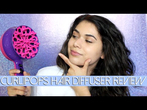 CURLIPOPS HAIR DIFFUSER DEMO & REVIEW | Tame My Mane
