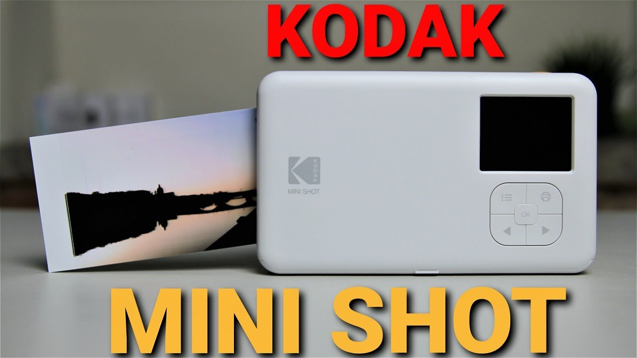 KODAK MINI SHOT instant camera, Unboxing and first impressions. What you need to know before buy it.