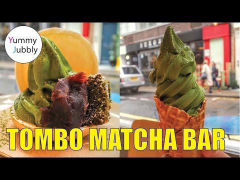 MATCHA ICE CREAM! Tombo Poke Matcha Bar, YUMMY! London Soho