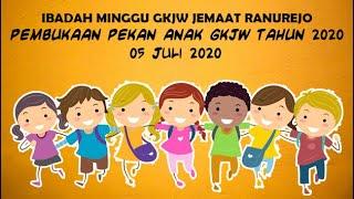 BERULANG-ULANG, Ibadah Minggu Pembukaan Pekan Anak GKJW th 2020, 05 Juli 2020 GKJW Jemaat Ranurejo