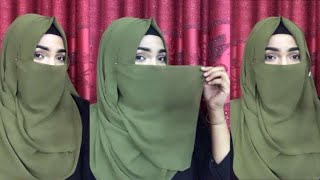 Most requested Eating Friendly Hijab Tutorial ||Mutahhara♥️