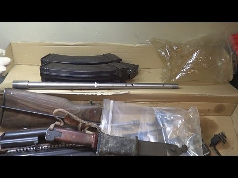 AK47 Parts Kit With US Barrel & Extras