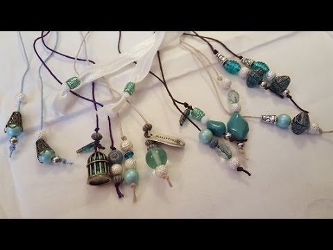 Pain Journal Bookmark Charms Tutorial