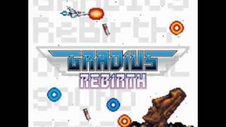 Gradius Rebirth - 07 - Heavy Blow - (stage 1) - Music