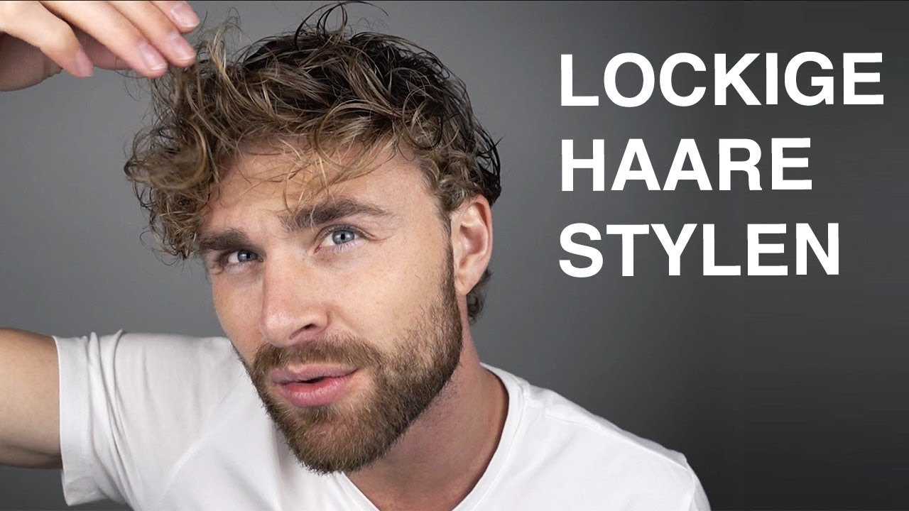 Locken Machen Manner Haarstyling Tutorial Fur Manner Mit Locken Daniel Korte