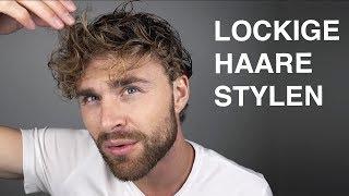 LOCKEN MACHEN MÄNNER ● Haarstyling TUTORIAL für Männer mit LOCKEN | DANIEL KORTE