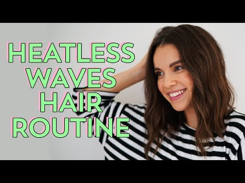 My (Almost) Heatless Waves Hair Routine | Ingrid Nilsen