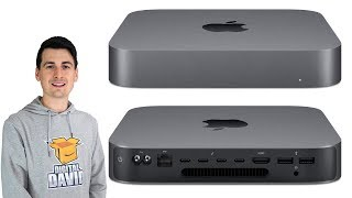 Apple Mac Mini Unboxing // 2018 Mac Mini Space Gray Intel Core i3