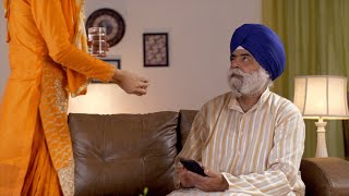 Indian caring daughter-in-law giving medicine to old father-in-law - Retiring senior, Healthcare, treatment, aging concept
