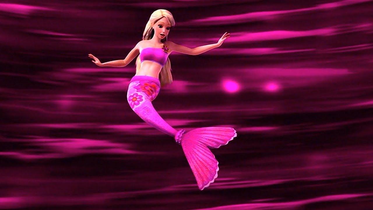 Barbie In A Mermaid Tale Merliah Turn Into A Real Mermaid Youtube