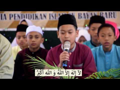 TAKBIR RAYA 2017 SK BAYAN BARU