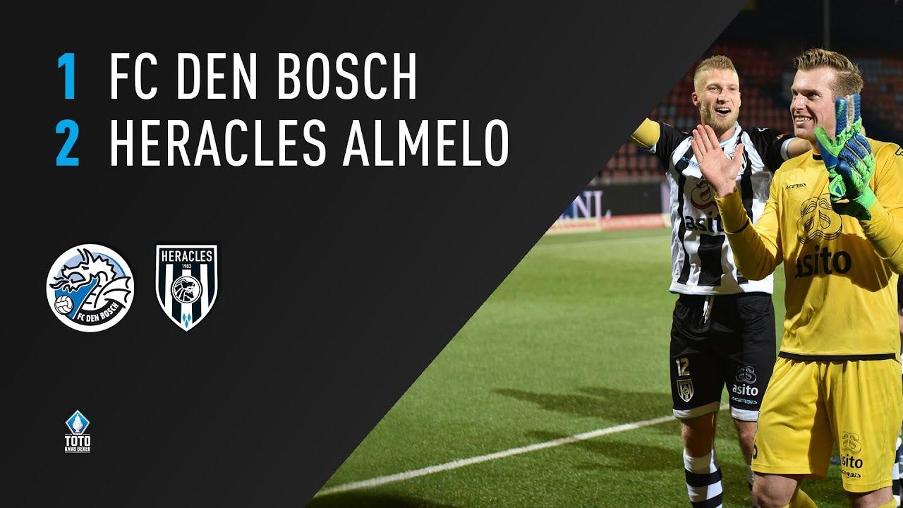 FC Den Bosch - Heracles Almelo | 25-09-2018 | Samenvatting