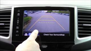 2017 Honda Pilot Rearview Camera Settings