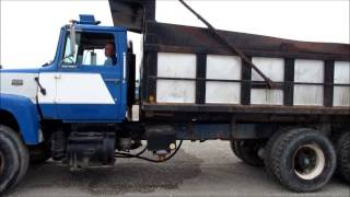 1980 Ford L9000 dump truck for sale | sold at auction June 25, 2015